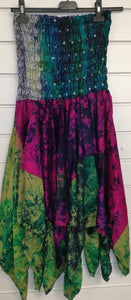 Recycled Silk Pixie Skirt/Dress