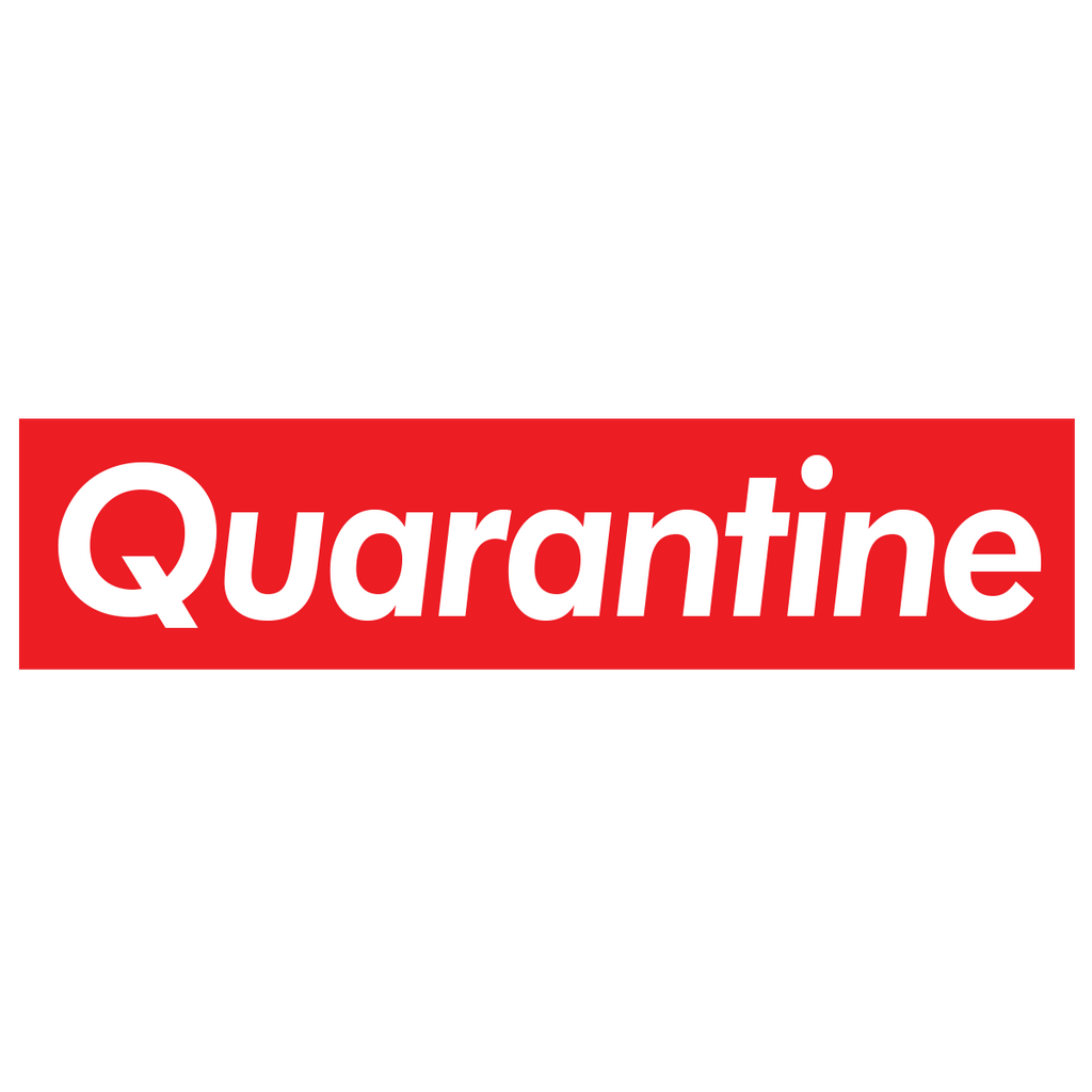 Quarantine Sticker - Coronavirus 2020