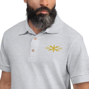 182 CPT Cyber Embroidered Polo Shirt