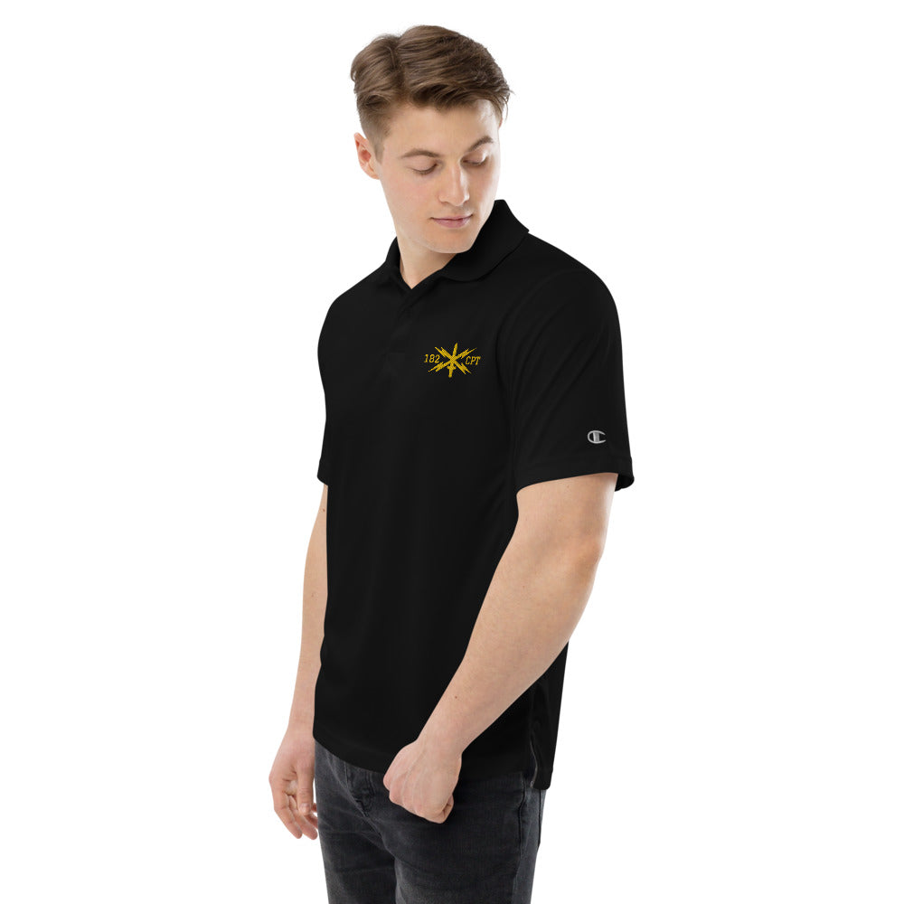 182 CPT Cyber Embroidered Champion performance polyester polo