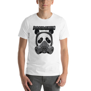 Pandemic Panda Short-Sleeve Unisex T-Shirt