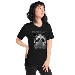 Panda Pandemic - Short-Sleeve Unisex T-Shirt
