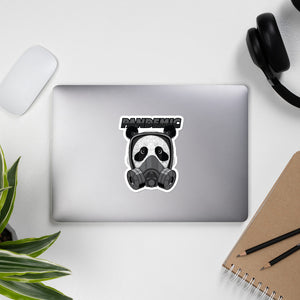 Panda Pandemic Bubble-free stickers