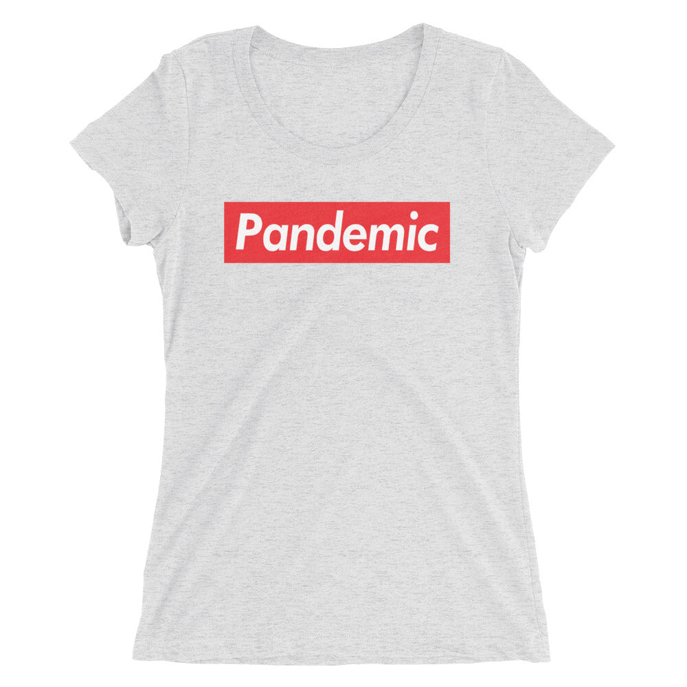 PANDEMIC SUPREME - CORONAVIRUS 2020 - Ladies' Short Sleeve Tee