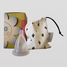 Load image into Gallery viewer, Menstrual Cups - Teen & Steri-spray