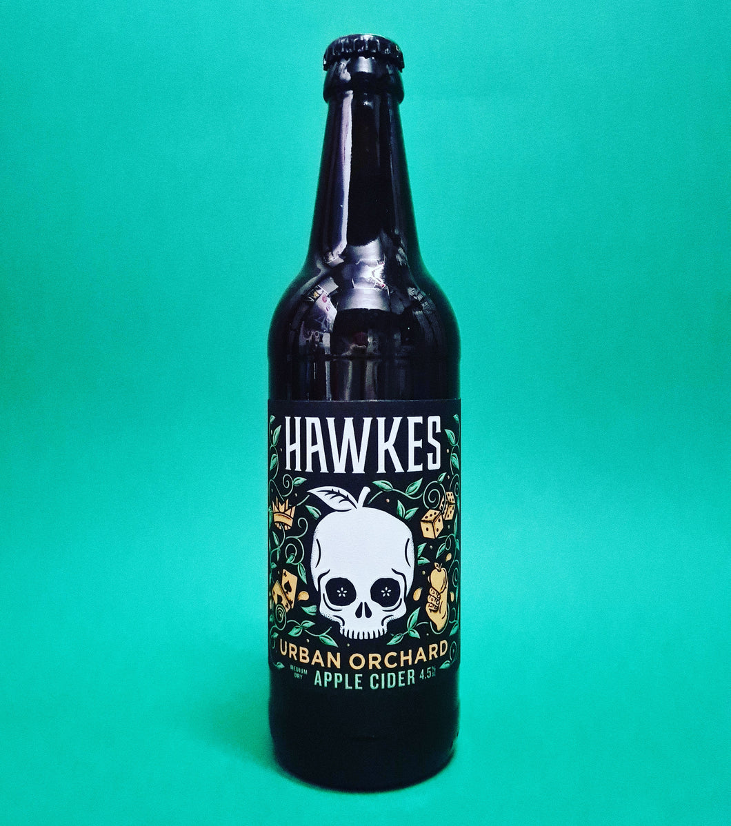 <p>Hawkes<br>Urban Orchard Cider</p>