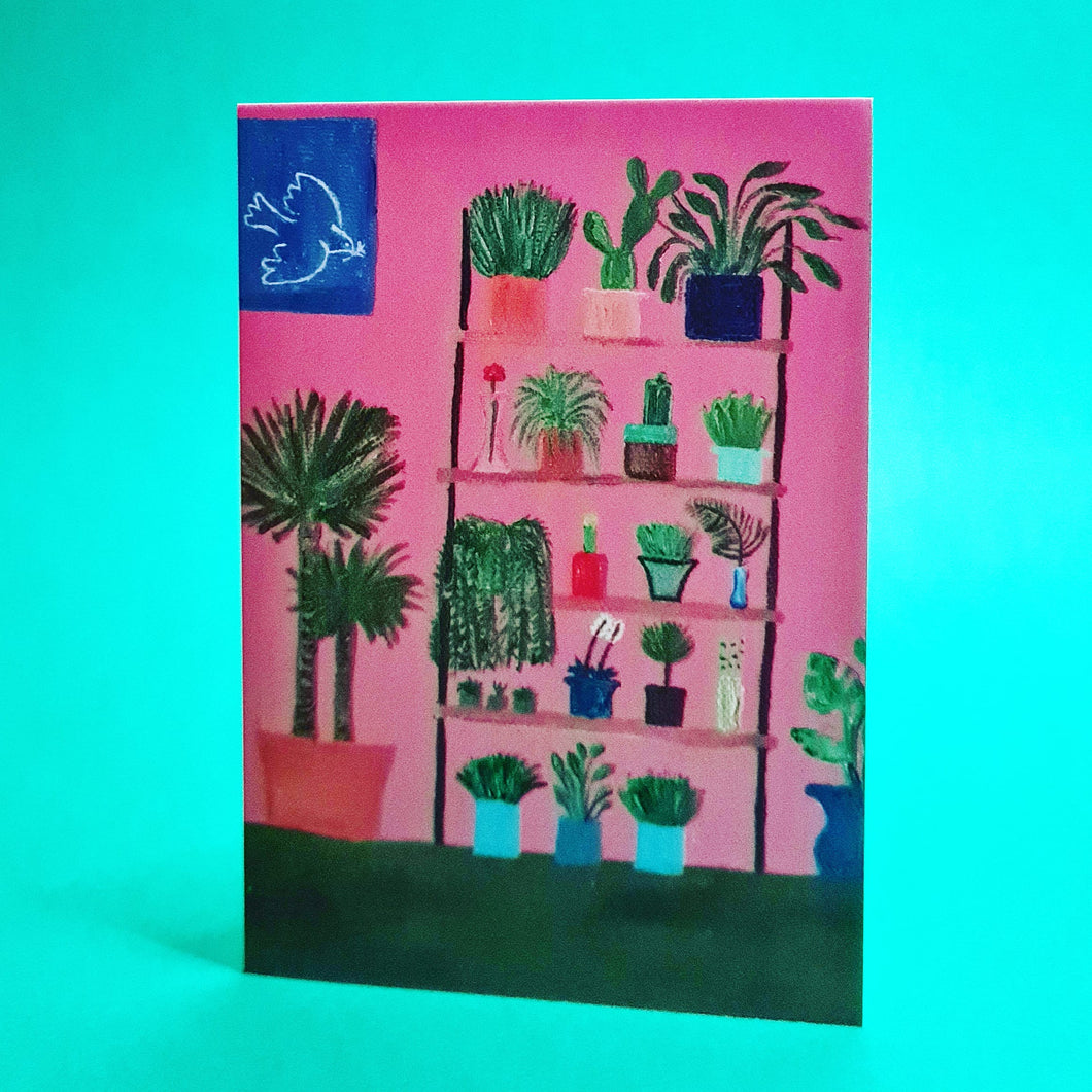 Peace Plants - Card by Liz Lyons
