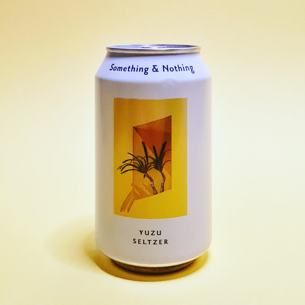 <p>Yuzu Seltzer<br>Something & Nothing</p>