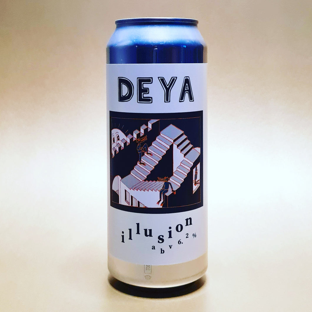 <p>Deya<br>Illusion<br>IPA</p>