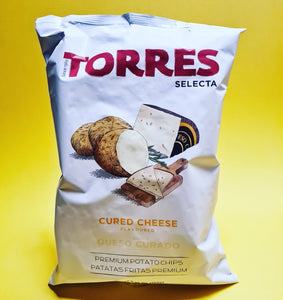 <p>Cured Cheese Crisps<br>Torres<br>150g</p>