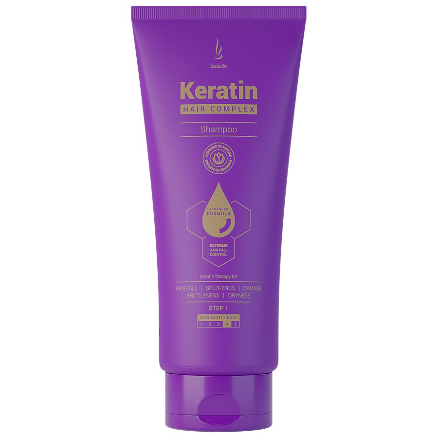 DuoLife Keratin Hair Complex Advanced Formula Shampoo - 200ml