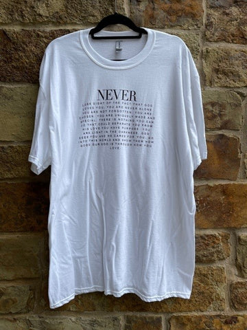 White Never T-Shirt
