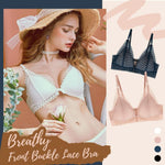 Load image into Gallery viewer, Laxchic™ Breathy Front Buckle Lace Bra
