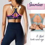 Load image into Gallery viewer, Back Buckle Comfy Sports Bra