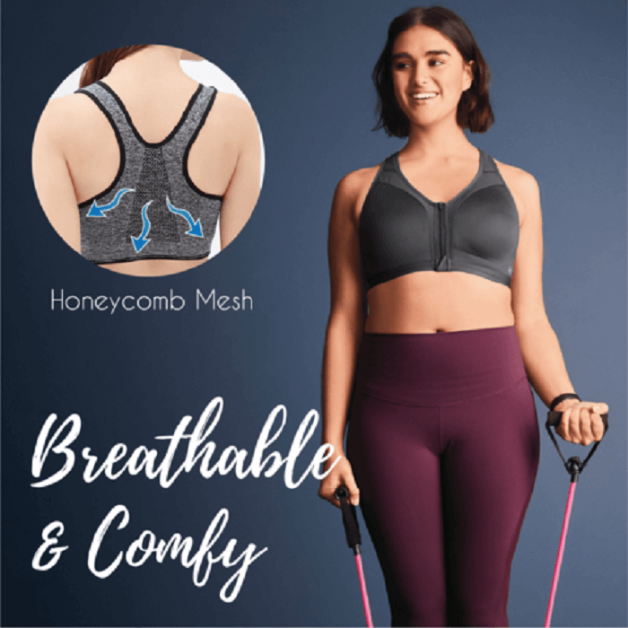 Wireless Supportive Sports Bra