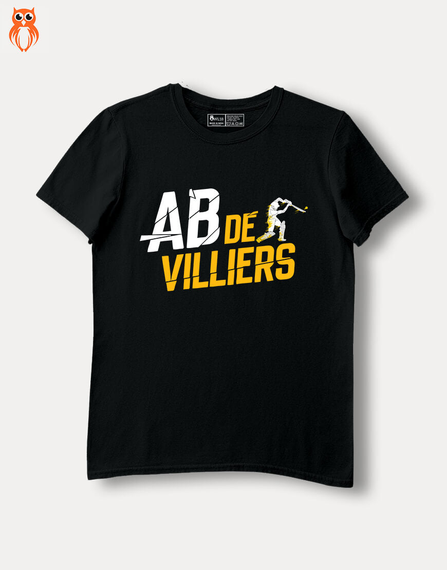 OWL18 AB De Villiers Men Graphic T-Shirt