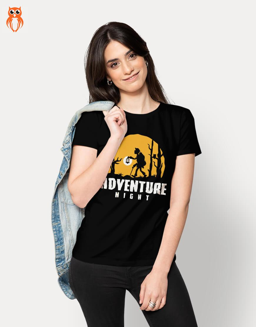 OWL18 Adventure Night Women Graphic T-Shirt