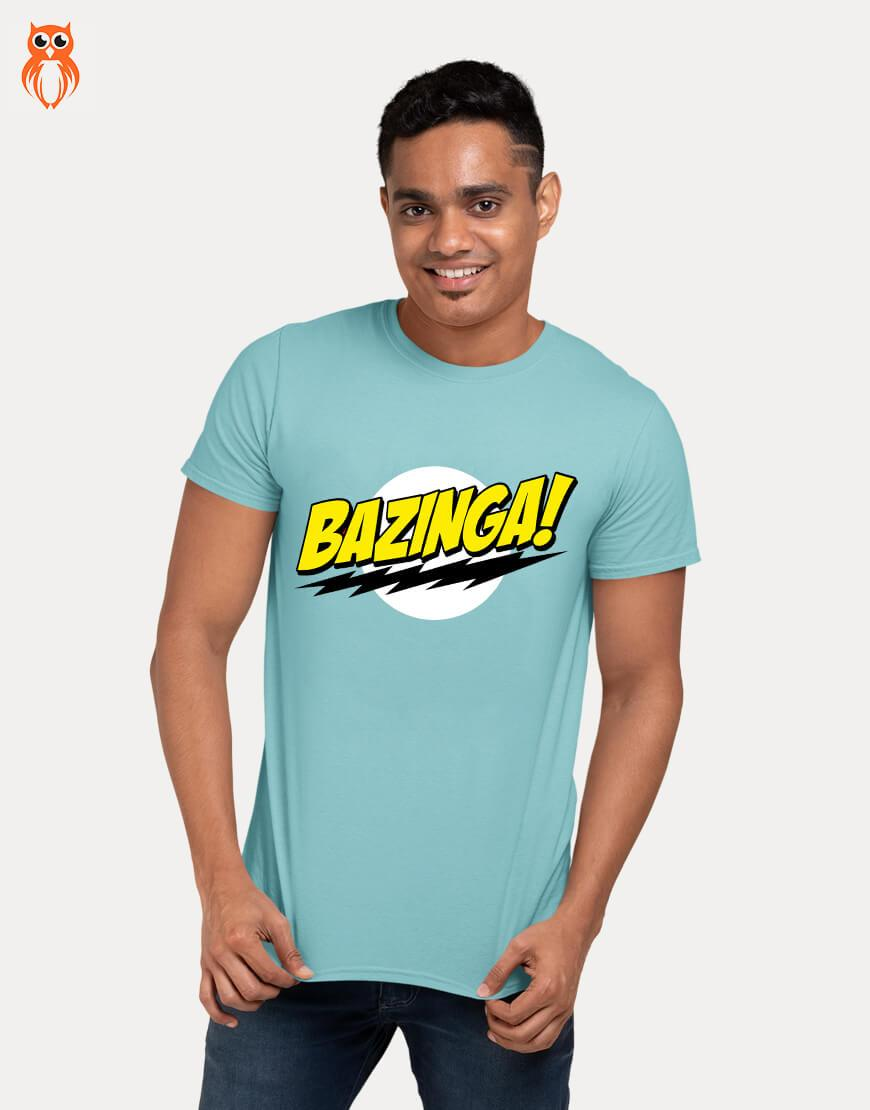 OWL18 Bazinga! Men Graphic T-Shirt