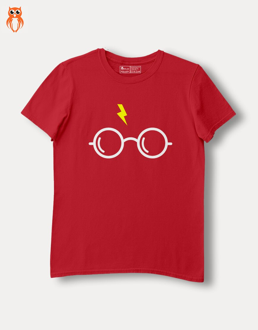 OWL18 Your Opinion HP Glasses Combo Women Graphic T-Shirts