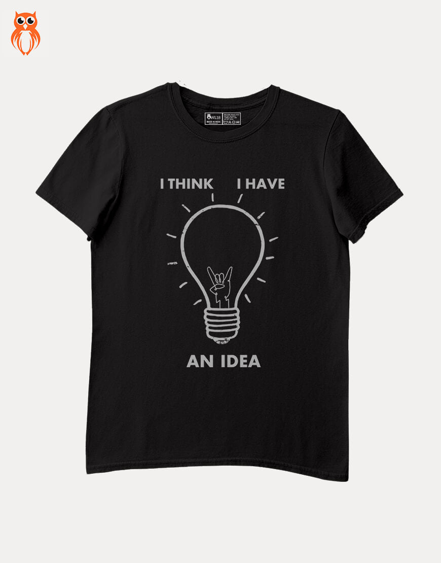 OWL18 I Think I Have An Idea Men Graphic T-Shirt