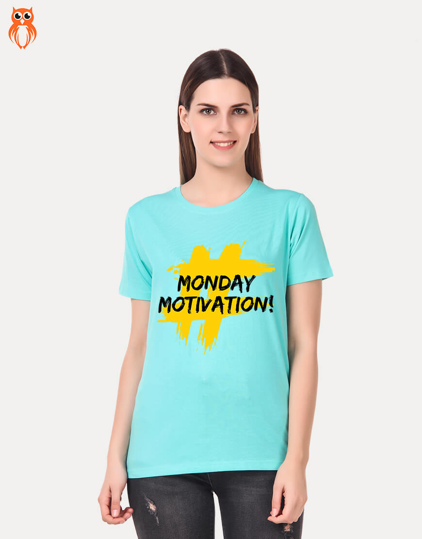 OWL18 #Monday Motivation Women Graphic T-Shirt