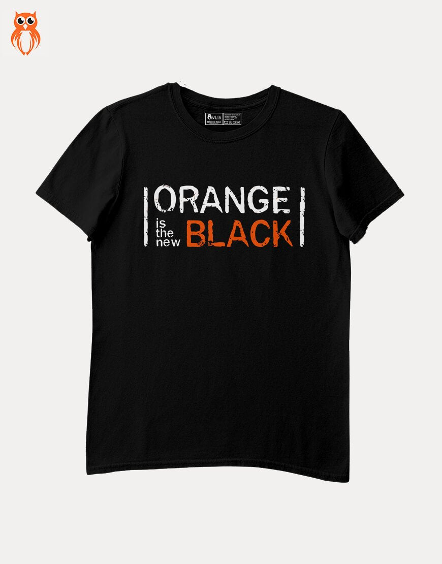 OWL18 Orange is The New Black Men Graphic T-Shirt