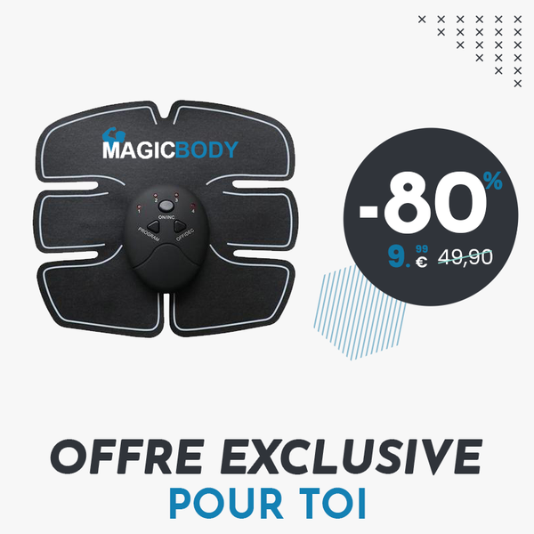 MagicBody® - Ceinture d'électrostimulation - MagicBody™