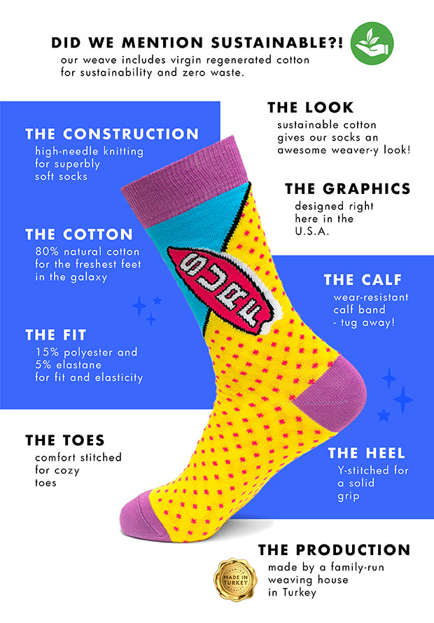 Sock Atomica About Our Socks