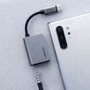 Momax OneLink USB type-C to Audio 音源轉插器