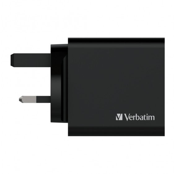 Verbatim Dual Port 36W PD & QC 3.0 USB充電器 66346