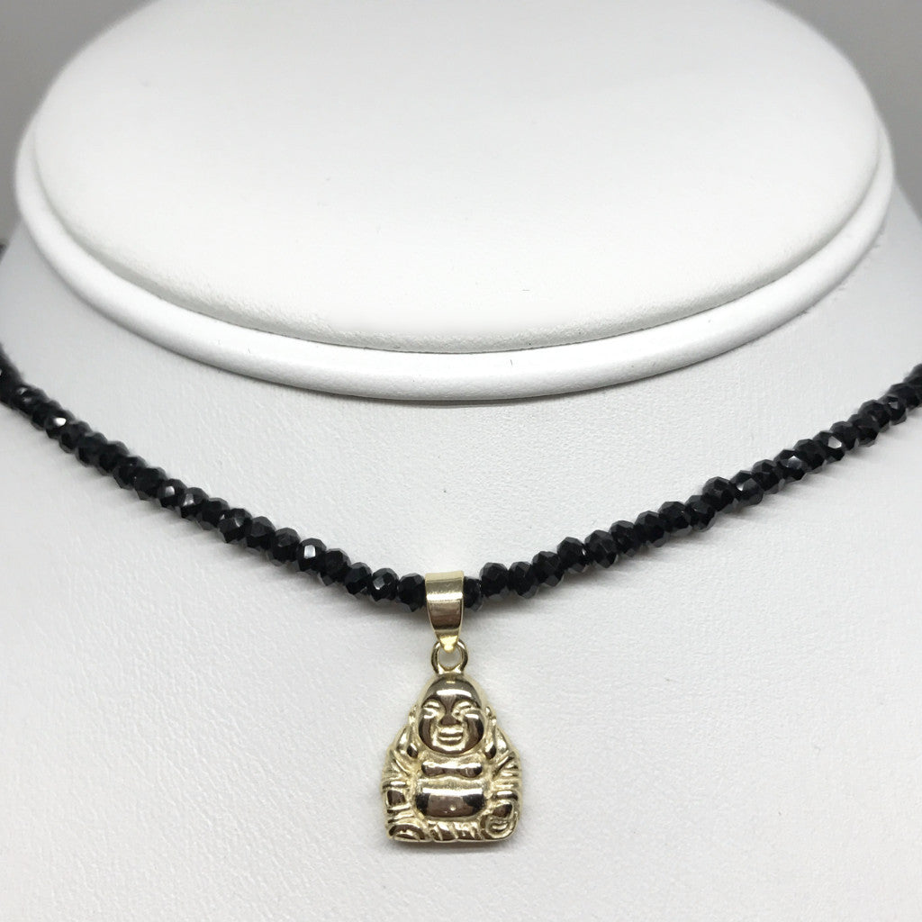 Mini Buddha Choker Necklace