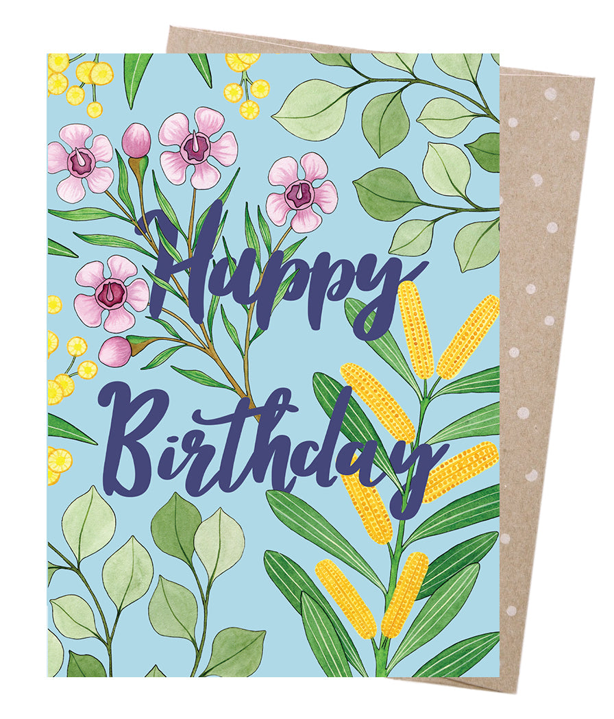 Birthday Blooms Card