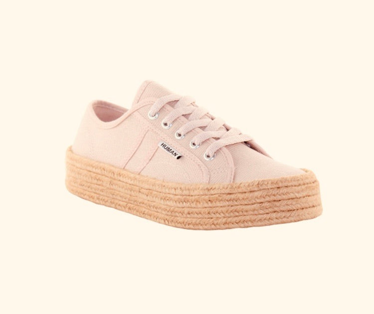 Charlotte Blush Canvas Sneaker