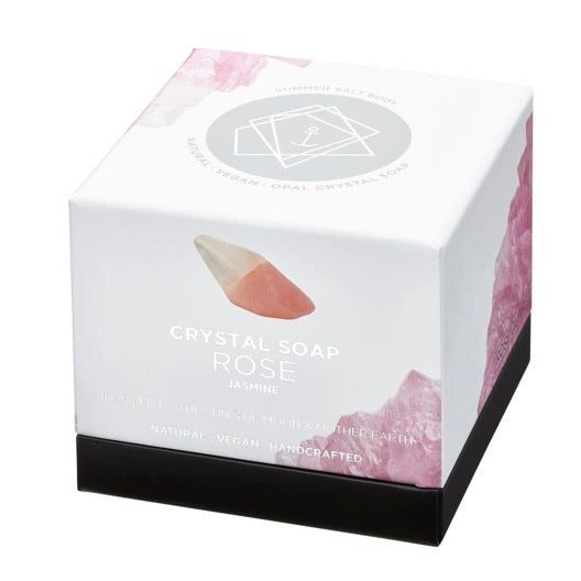 Rose Quartz Crystal Soap