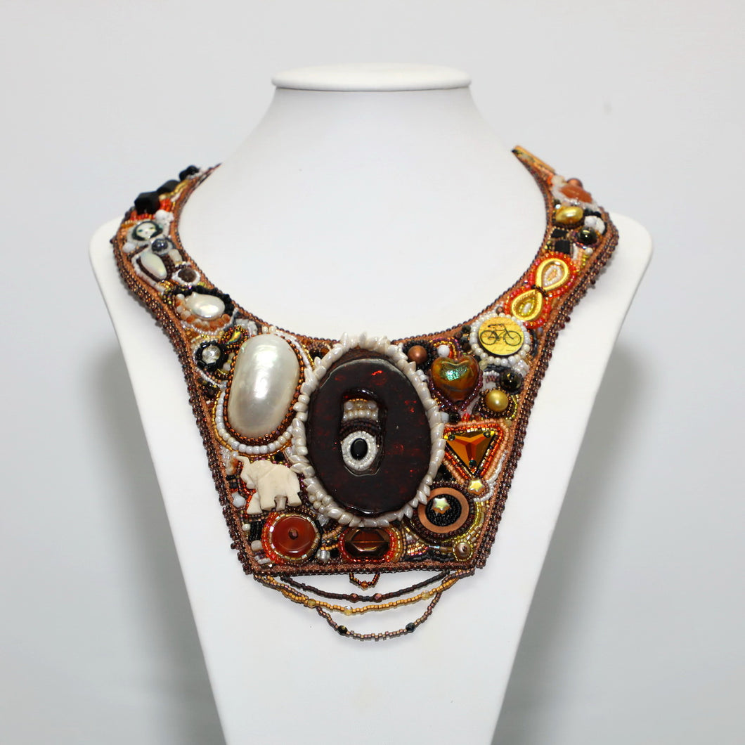 'African Sunset' - Wearable Art By Sera