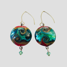 Load image into Gallery viewer, Exquisite Earrings with Striking Handmade Beads by Liz DeLuca