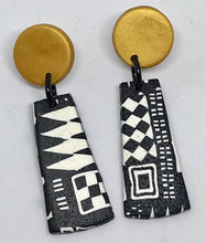Load image into Gallery viewer, Gold Paradise Earrings by Wendy Moore