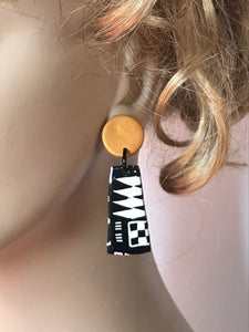 Gold Paradise Earrings by Wendy Moore