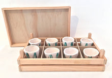 Load image into Gallery viewer, Shot Glass Set in Box by Susan Hulland