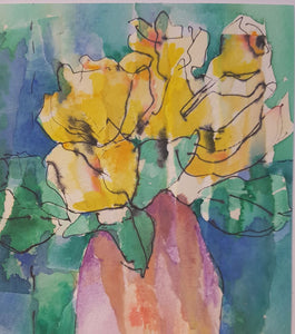 'Golden Tulips' by Jeanette Prout