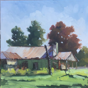 'The Old Garage' by Julie Simmons