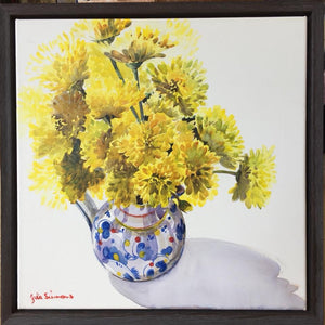 'Flowers' Limited Edition Archival Print of a Julie Simmons Water Colour
