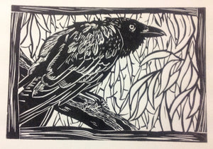 'Watching William' - Traditional Artist's Hand Pulled Print by Mellissa Read-Devine