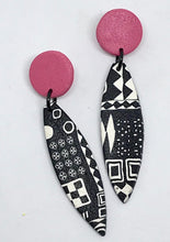 Load image into Gallery viewer, Pink Paradise Earrings by Wendy Moore