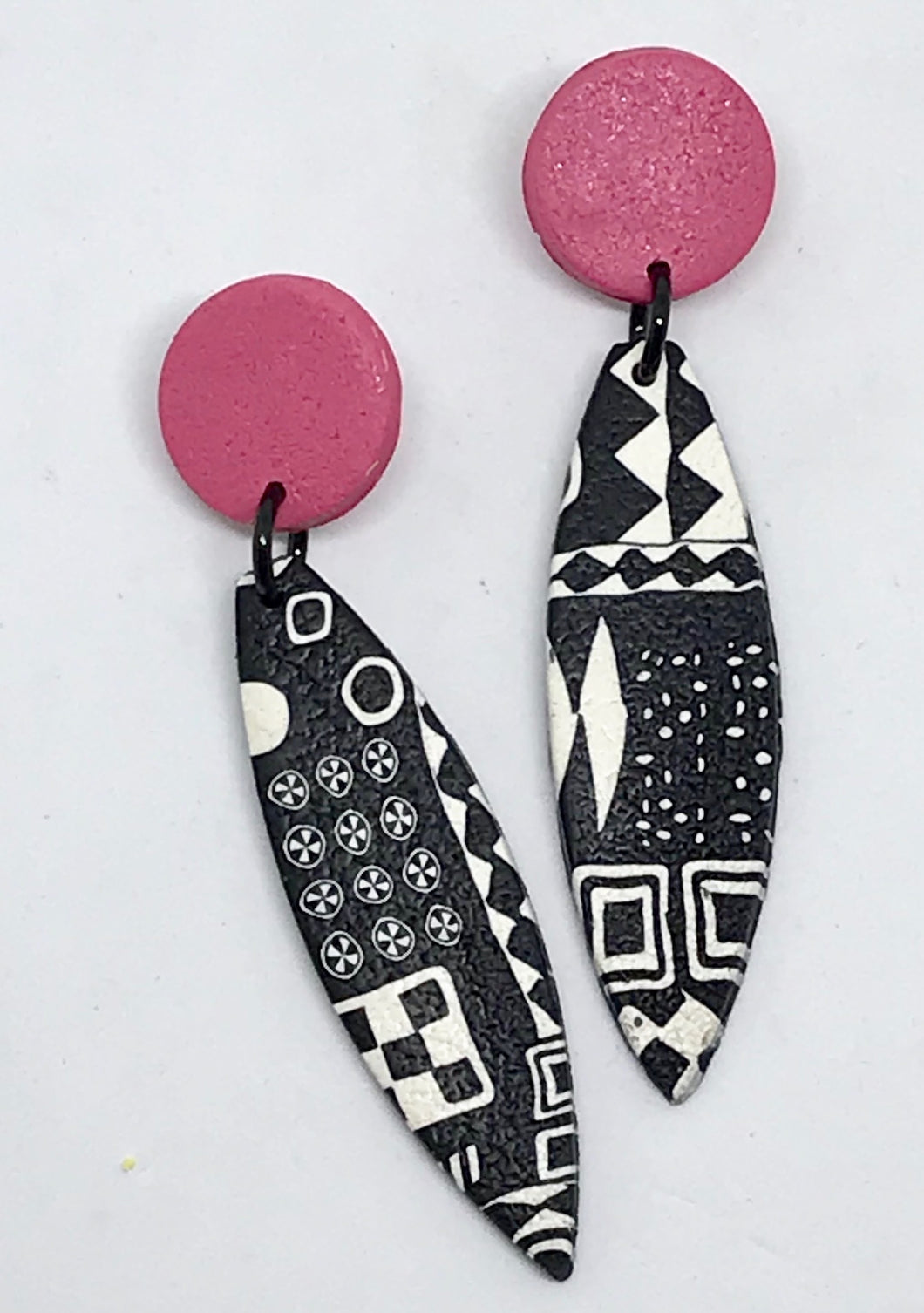 Pink Paradise Earrings by Wendy Moore
