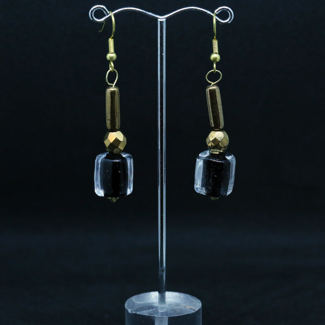 Murano Glass Bead Earrings by Christine Smalley