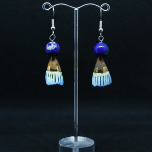 Earrings With Beautiful Handmade Beads By Melissa Gabelle