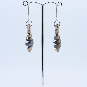 Quirky Earrings with Unique Beads by Fiona Horne