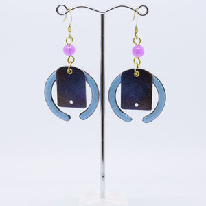 Eclectic Geometric Earrings by Australian Jeweller Jan Rietdyk
