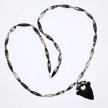 Load image into Gallery viewer, Rutilated  Quartz & Horn Necklace